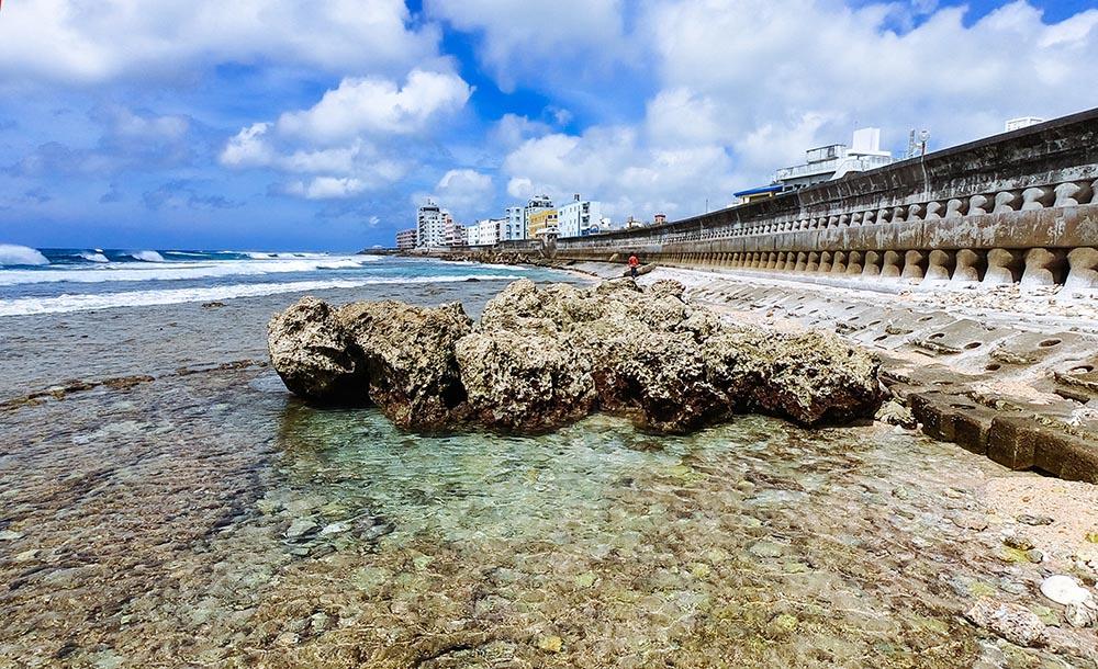 干潮の砂辺海岸