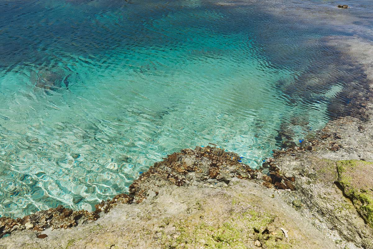 備瀬崎の海の透明度