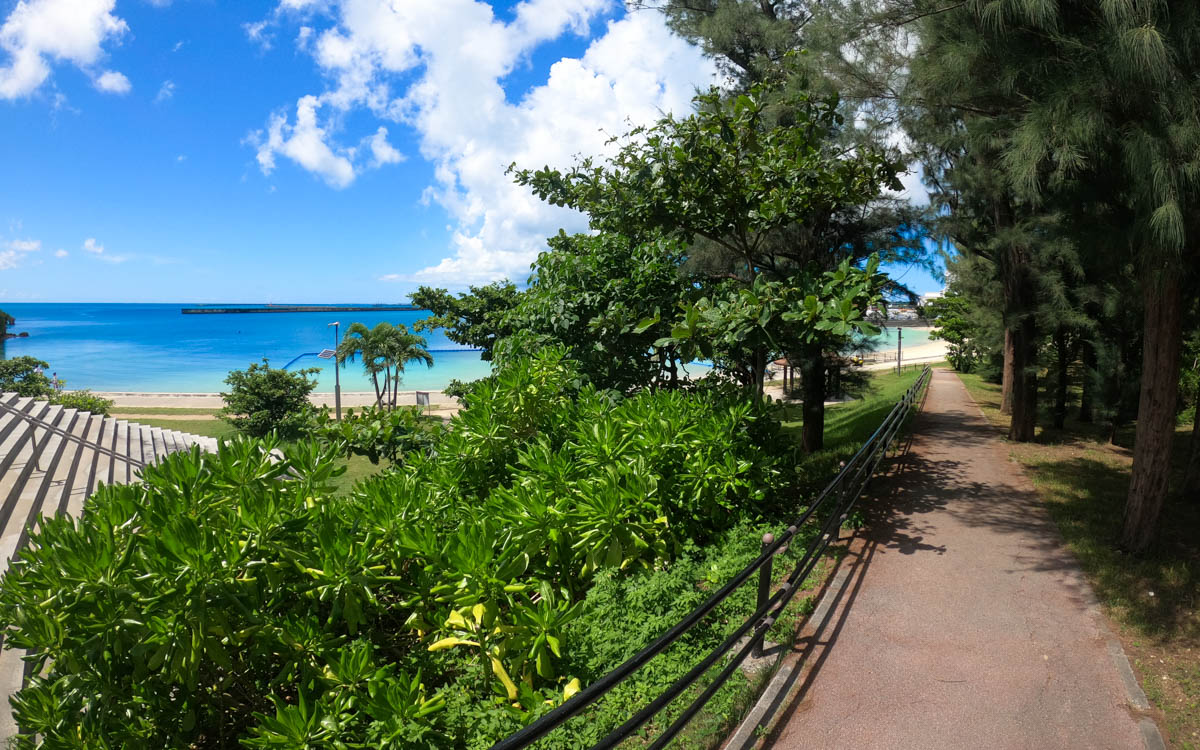 宮古島 バリアフリーのビーチ