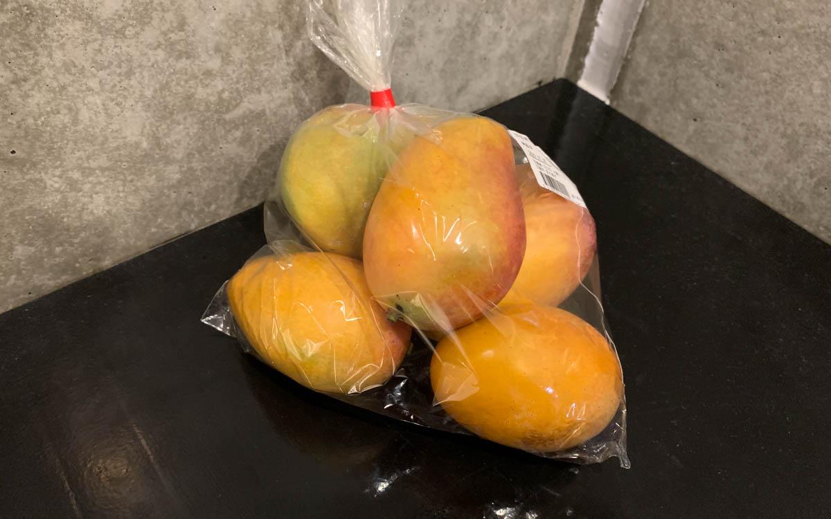 宮古島の訳ありマンゴー1000円