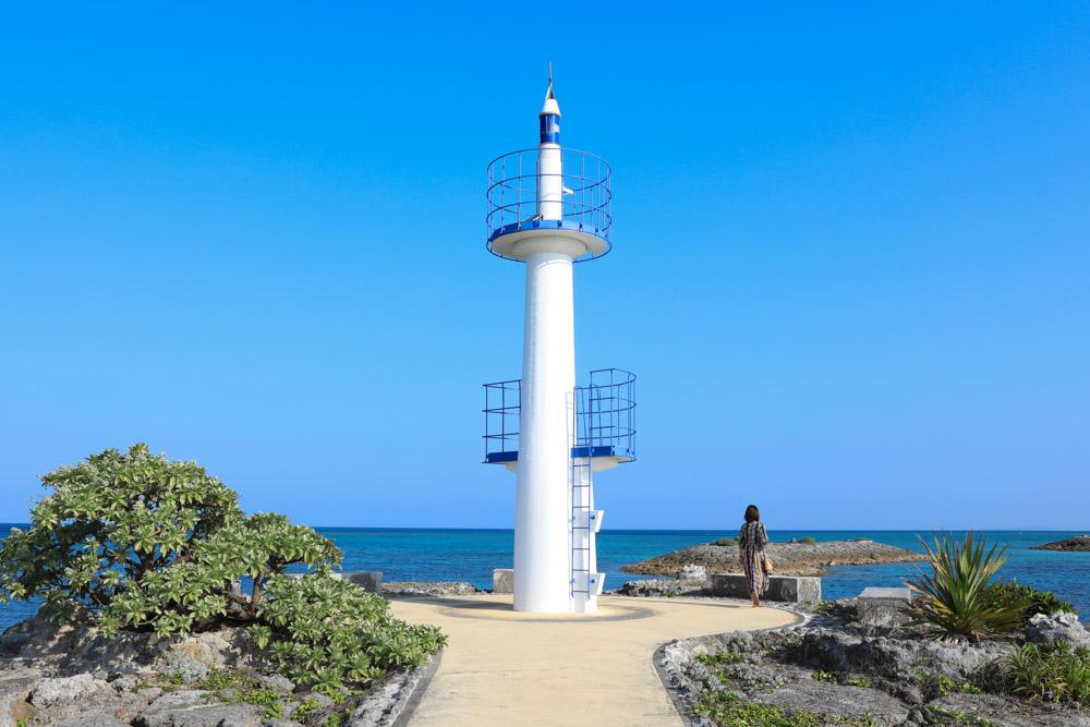 フォトスポットになっている灯台