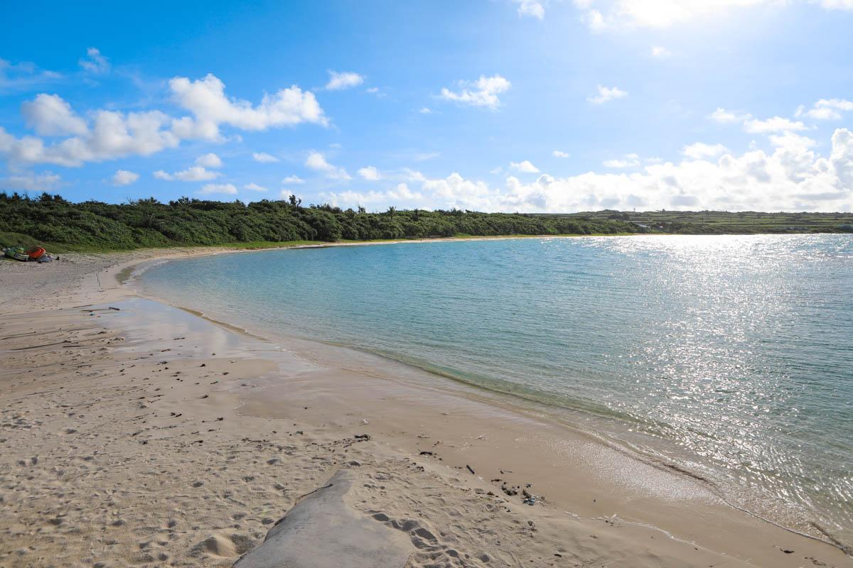全長約800メートルの砂浜