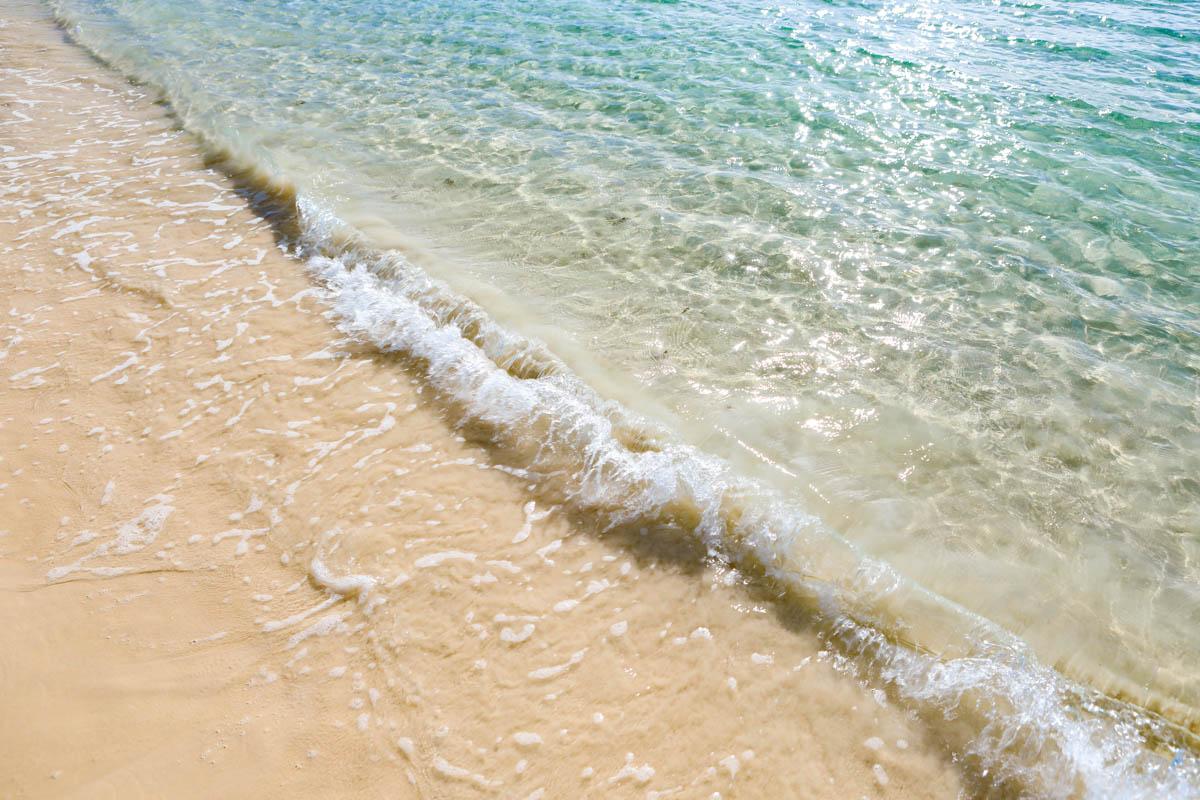 渡口の浜 透明度