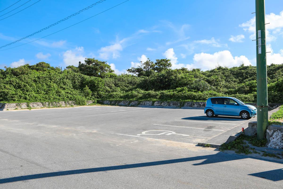 渡口の浜 駐車場(無料パーキング)