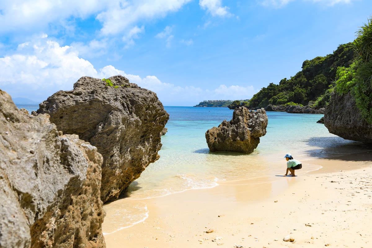うちなーんちゅに愛される静かなビーチ