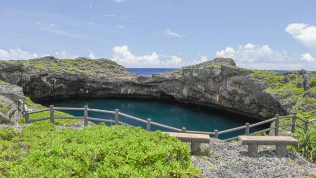 下地島の観光名所 通り池