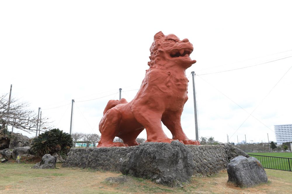 日本一大きなシーサー