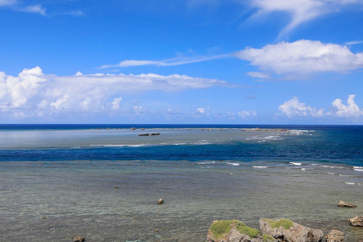 灯台から見える宮古の海