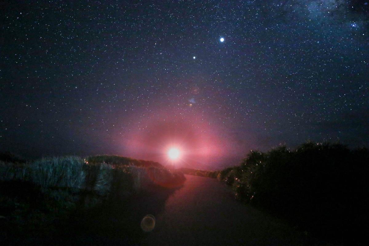 東平安名崎 満点の星空