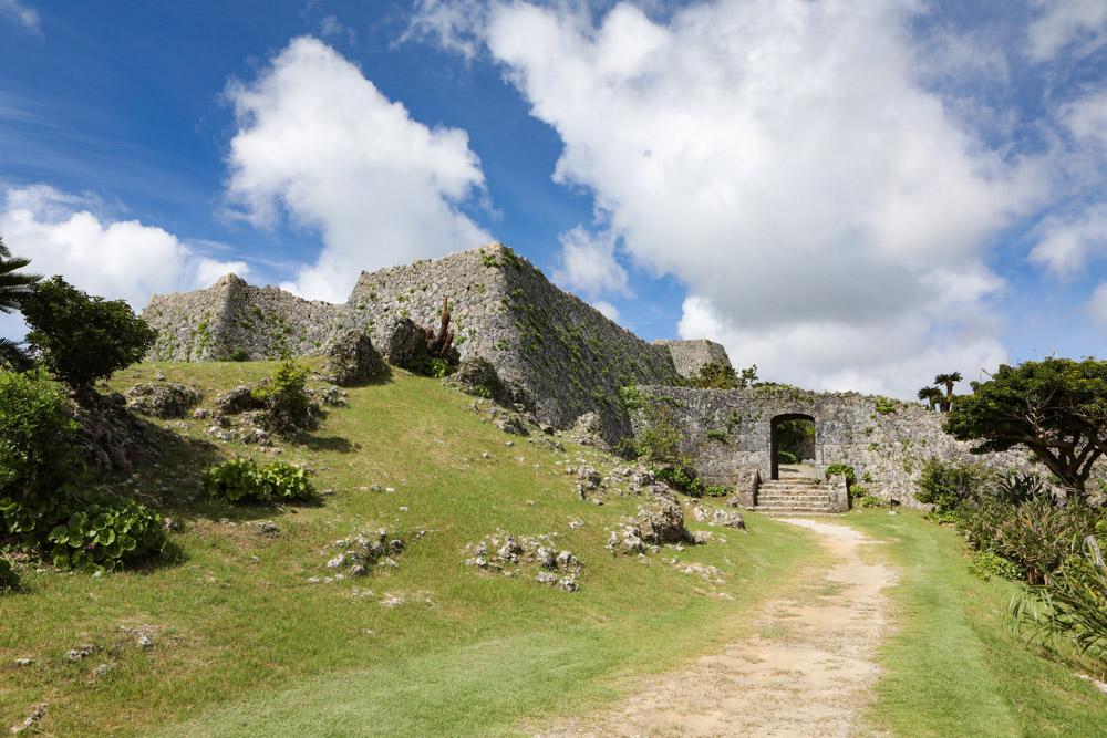 中城村の城跡