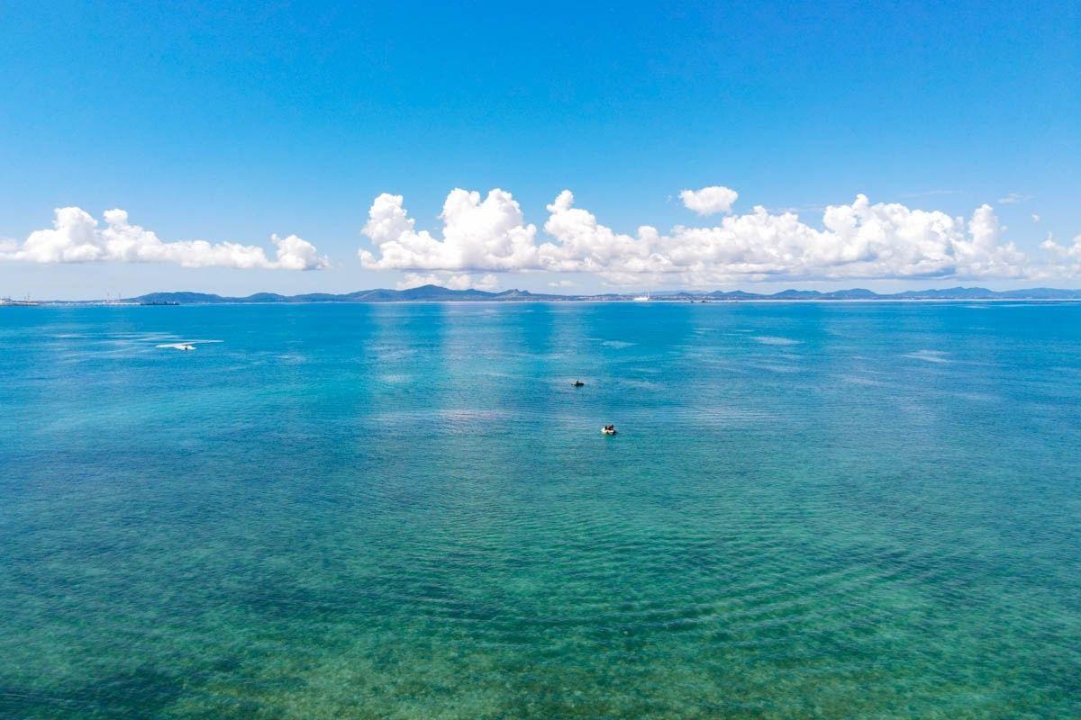 沖縄の紫外線と海