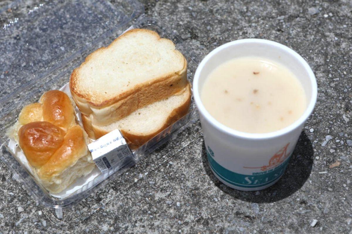 シーサイドドライブインのスープ