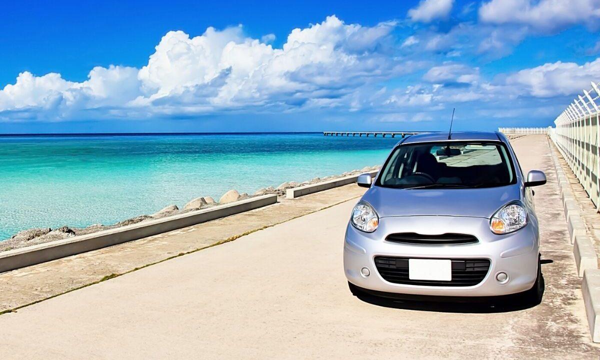 沖縄へ車両輸送