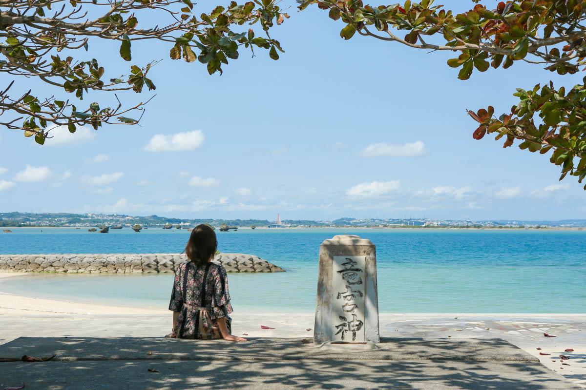 浜比嘉ビーチはフォトスポット