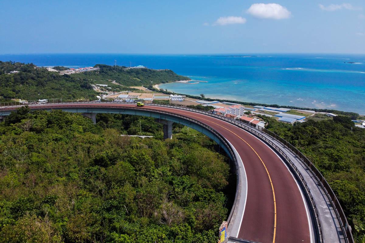 ニライカナイ橋 展望台からの眺め