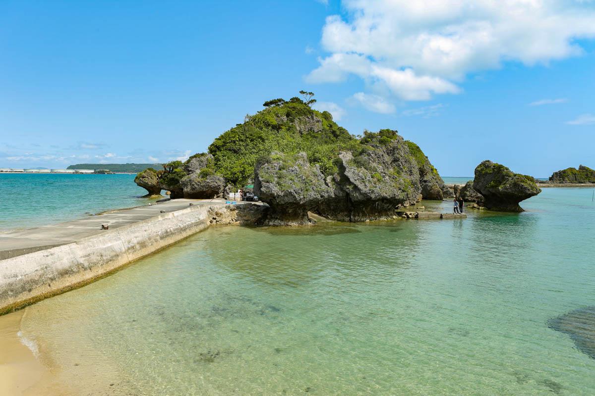 沖縄のインスタ映えな島