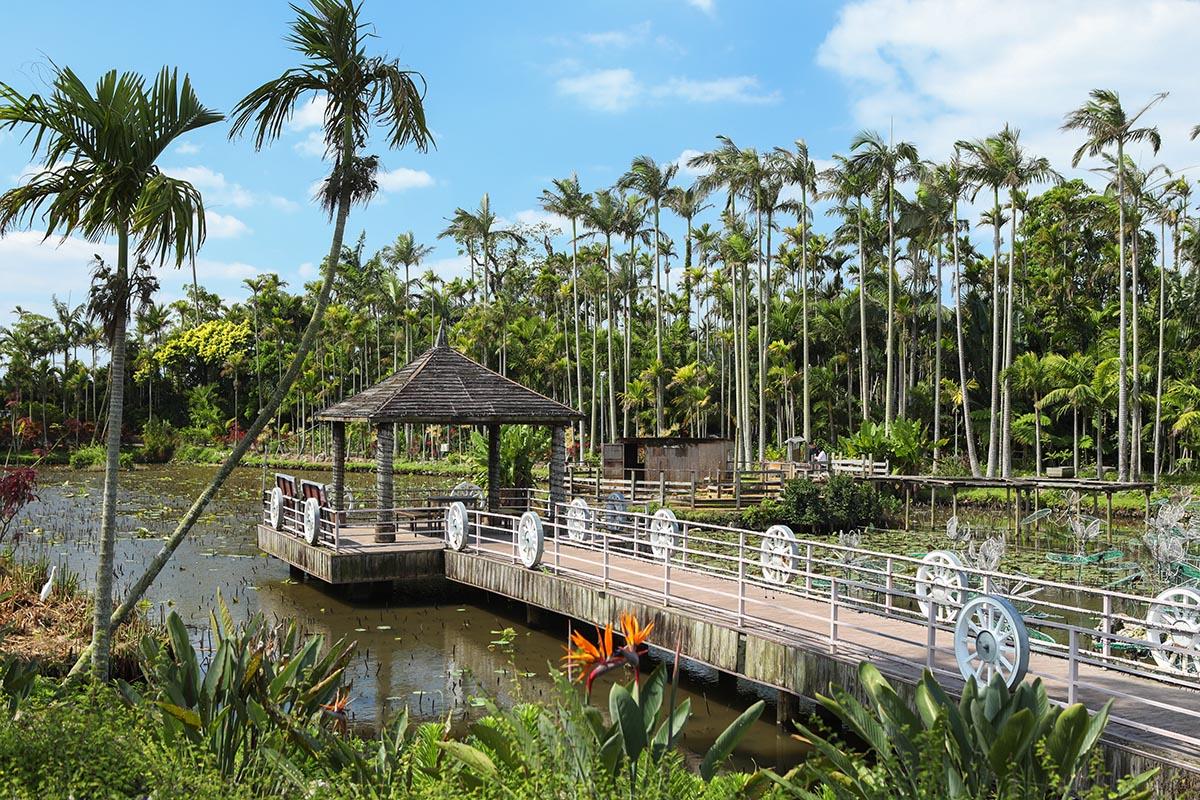 アジアを連想させる東南植物園