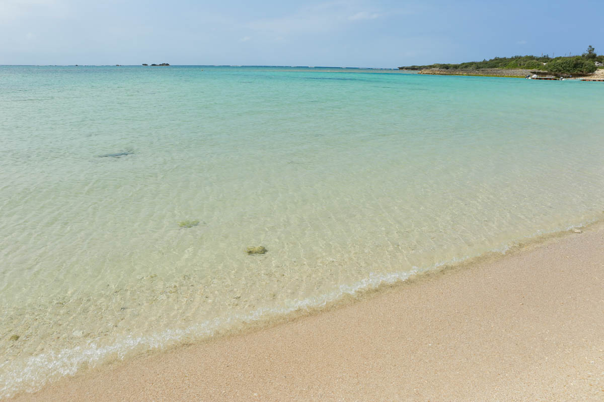 美しい残波ビーチ