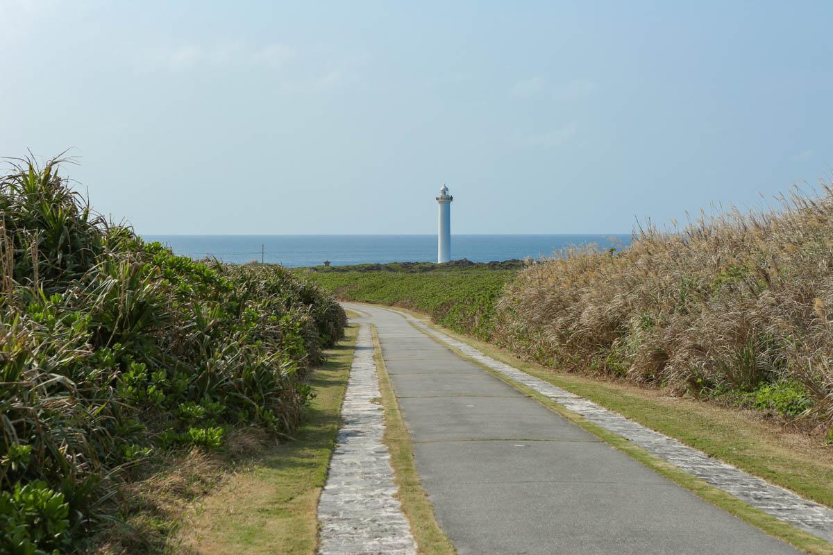 残波岬灯台のウォーキングコース