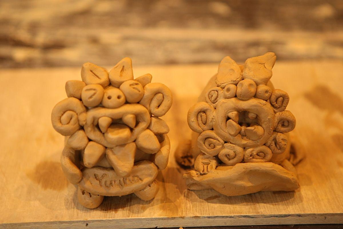 シーサー体験琉球窯
