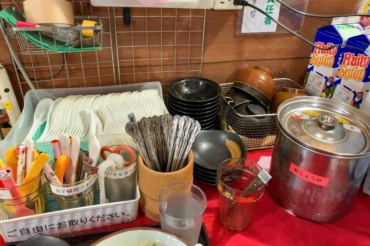 紅生姜や調味料
