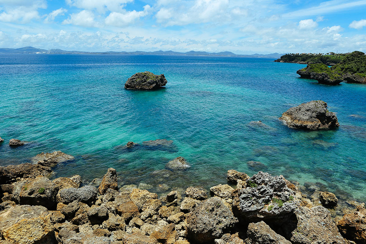 伊計島の眺め
