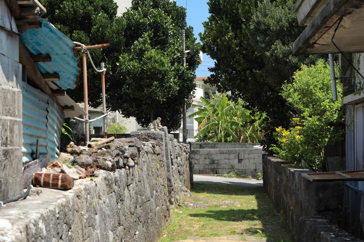 伊計島 集落の様子