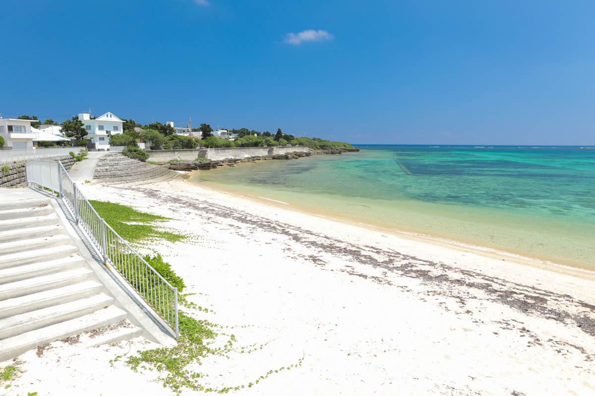 伊計島のプライベートビーチ