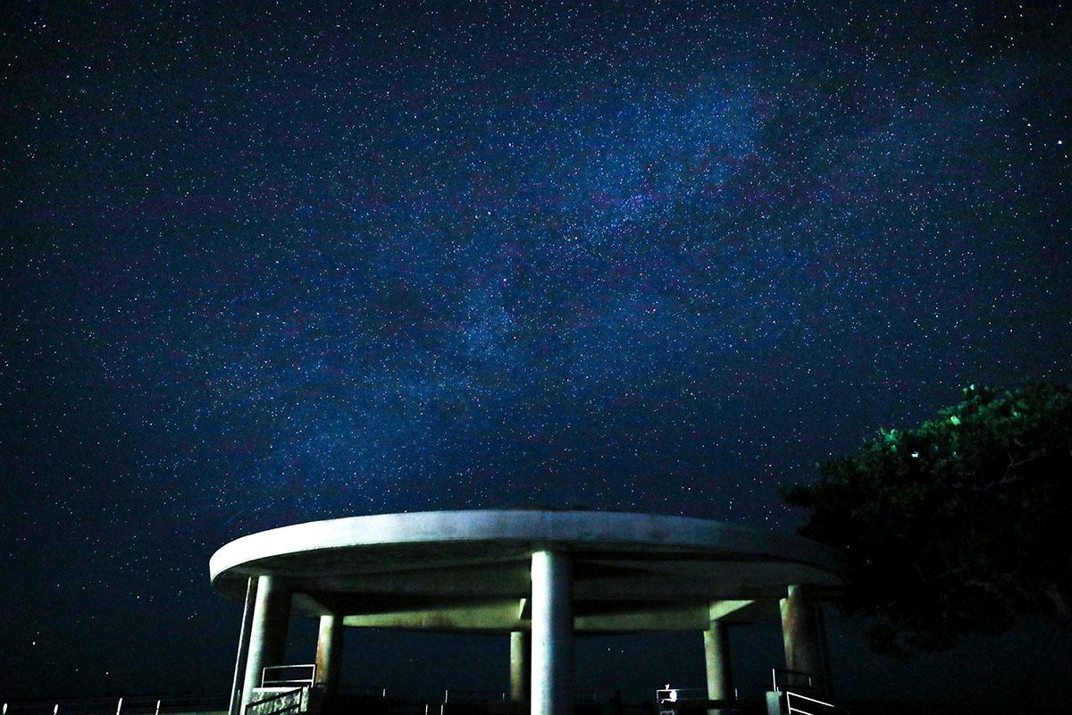 沖縄で星空を楽しむ